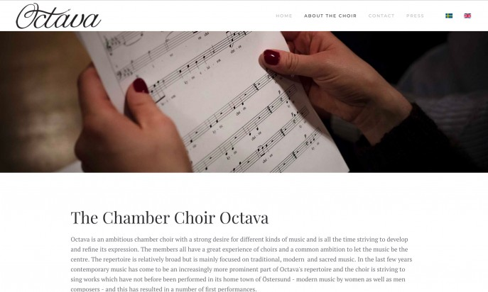 The Chamber Choir Octava by BiT konsult