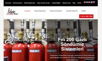 Lider Yangın ve Güvenlik Sistemleri by Yangın Söndürme