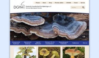 German Mycological Society by reDim GmbH