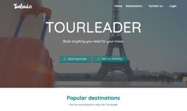 Tourleader by Luca d'Alessandro and Laura Marongiu