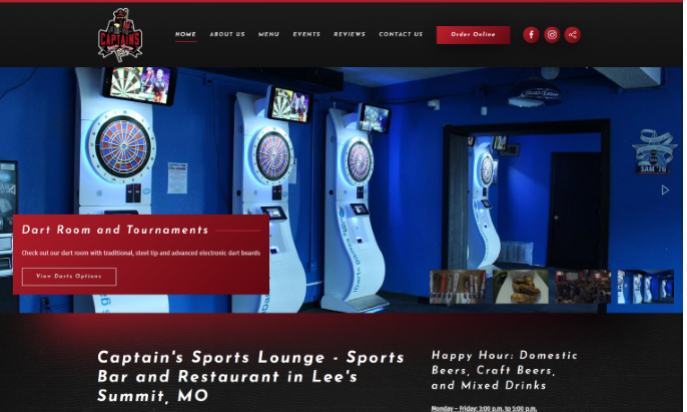 Captain's Sports Lounge by Igniting Business