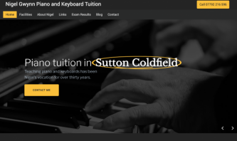 Nigel Gwynn Piano and Keyboard Tuition by Andrew Lowry