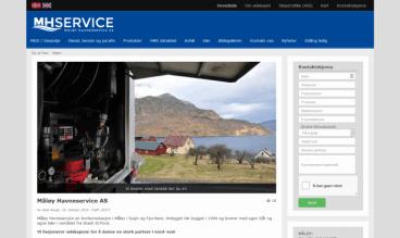 Måløy Havneservice by Web Norge
