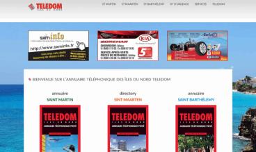 Teledom, phone directory by IDIMweb