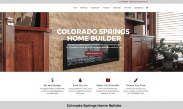 Colorado Springs Home Builder-Homes by Michael Hall by Joe Boylan