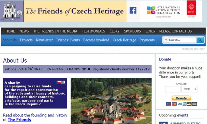 The Friends of Czech Heritage by David Boggitt