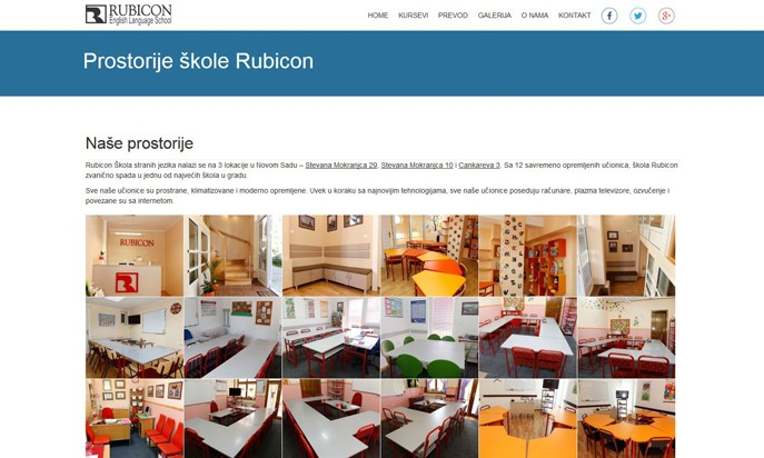 RUBICON - English Language School by Luka Salapura