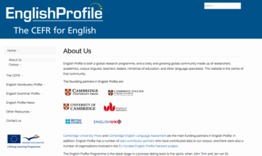English Profile by Brian Teeman