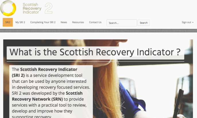 Scottish Recovery Indicator by Brian Teeman