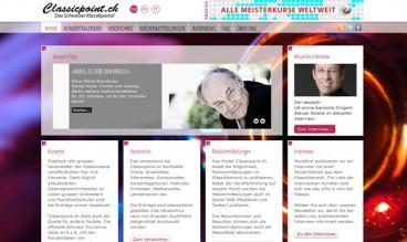 Classical Music Portal by Masterhomepage GmbH