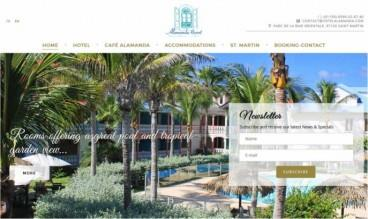 Alamanda Hotel, French West Indies by IDIMweb
