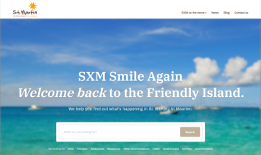 St. Martin Tourist Office, SXM Smile Again by IDIMweb