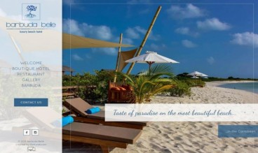 Barbuda Belle, Luxury Beach Hotel by IDIMweb