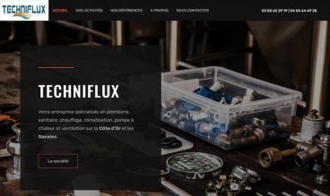 Techniflux - Plombier Chauffagiste Dijon/Annecy by IDIMweb