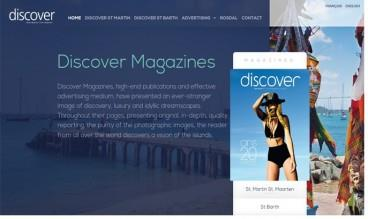 Discover Magazine, French West Indies by IDIMweb