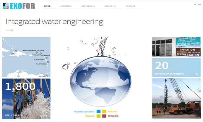 Exofor, Integrated Water Engineering by IDIMweb