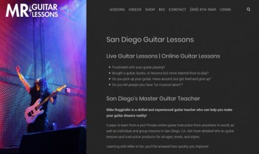 MRGuitarLessons.com by CreativeSights