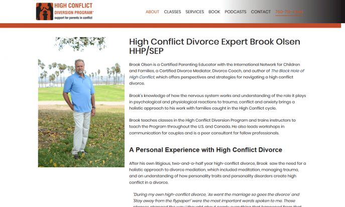 High Conflict Diversion Program - Joomla! Showcase Directory