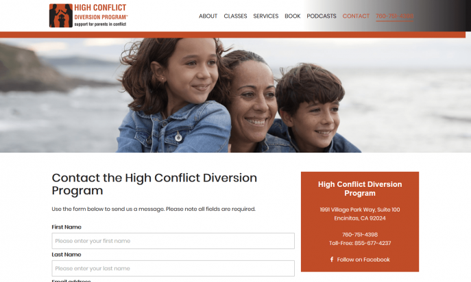 High Conflict Diversion Program by CreativeSights