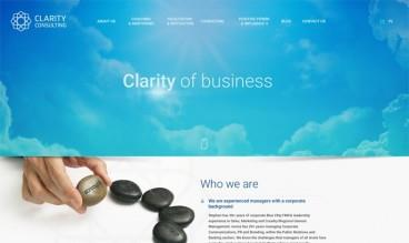 Clarity Consulting by Jacek Nadolny - StudioAlfa Joomla Webdesign