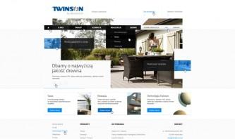 Twinson by Jacek Nadolny - StudioAlfa Joomla Webdesign
