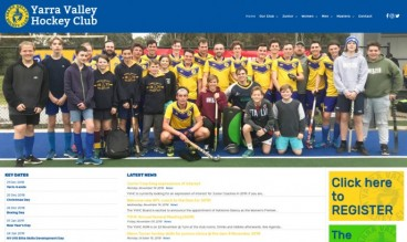 Yarra Valley Hockey Club by WebSolutionZ.com.au