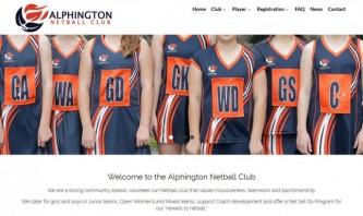 Alphington Netball Club by WebSolutionZ.com.au