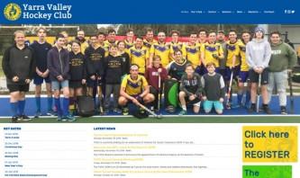 Yarra Valley Hockey Club by WebSolutionZ.com.au