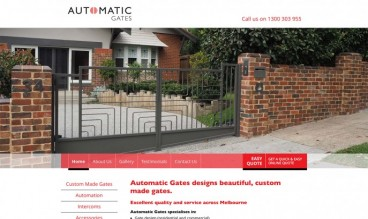Automatic Gates by Mity Digital