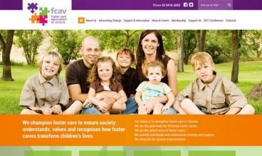 Foster Care Association of Victoria by Mity Digital