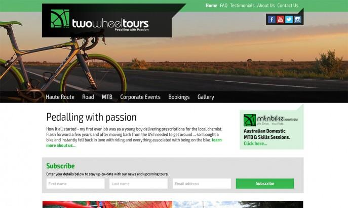 Two Wheel Tours by Mity Digital