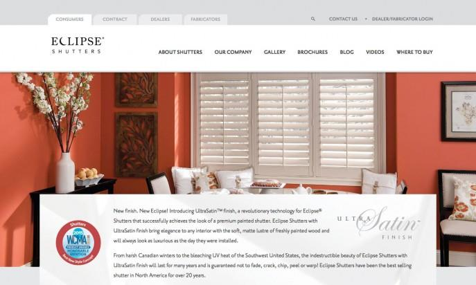 Eclipse Shutters by Inspry