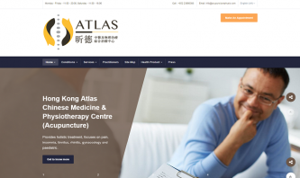 Hong Kong Atlas Chinese Medicine & Physiotherapy Centre by William Lo