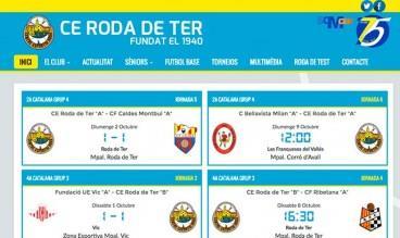 CE Roda de Ter by Webs de Futbol